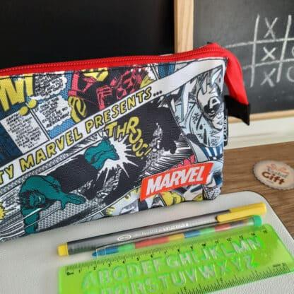 Marvel - Trousse 3 compartiments Comics