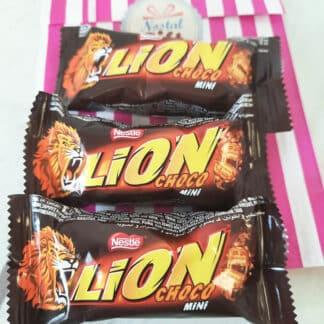 LION mini - Barres chocolatées au caramel et céréales croustillantes (par 3)