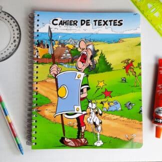 Astérix - Cahier de textes 17x22 164 pages - Clairefontaine