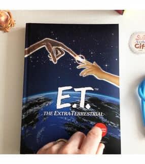Carnet Lumineux - E.T. L'extraterrestre