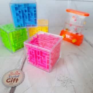 Jeu Labyrinthe cube en 3D - casse tête