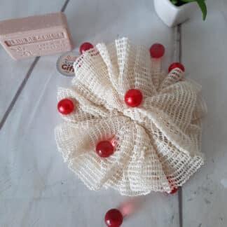 Sachet savon naturel 100% biodégradable en sisal