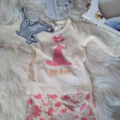 Harry Potter - Vêtement bébé rose