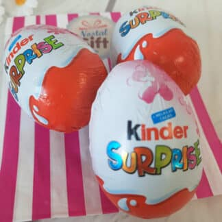 Oeuf Kinder Surprise version fille (par 3)