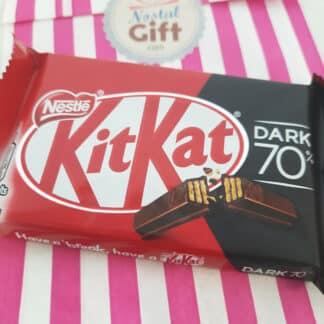 Kit Kat chocolat noir 70% - Barre Chocolat