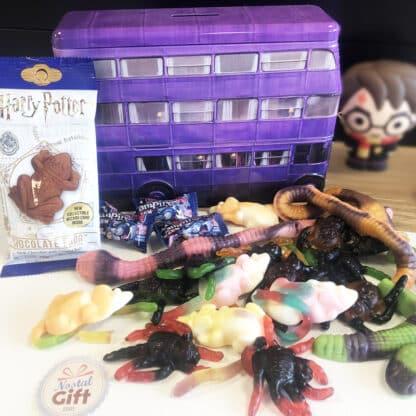Harry Potter - Coffret bonbon métal -  Magicobus rempli de bonbons