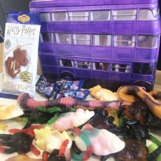 Harry Potter - Coffret bonbon métal -  Magicobus remplie de bonbons