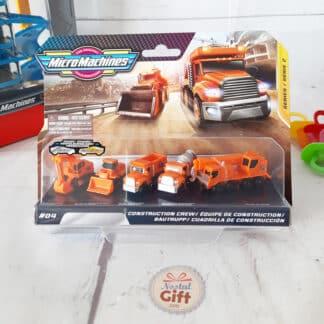 Micro machines - Kit mondiaux 5 véhicules série 2