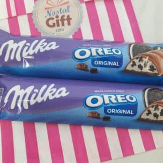 MILKA Oreo - Barres chocolatées 2x37g