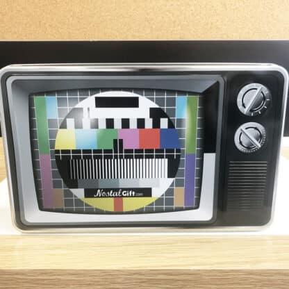 """Coffret Cadeau : Boîte """"Mire tv"""" - Bonbons des années 80"""