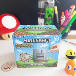 Minecraft - Mug à personnaliser autocollant - Build a level