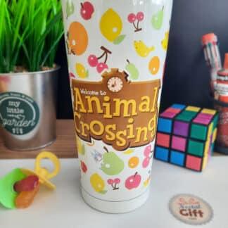 Animal Crossing - Mug de transport en acier inoxydable