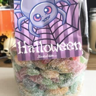 Sachet bonbons Halloween - 30 araignées qui piquent