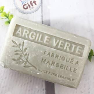 Savon de Marseille Bio à l'argile verte ( 100 g )