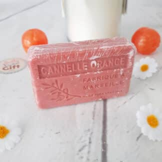 Savon de Marseille - Senteur Cannelle orange ( 100g)