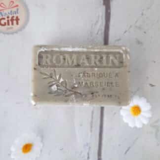 Savon de Marseille Bio exfoliant - Senteur Romarin ( 100g )