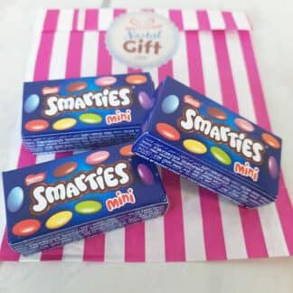 Boîte Smarties Mini 15 g (par 3)