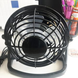 Ventilateur avec câble USB