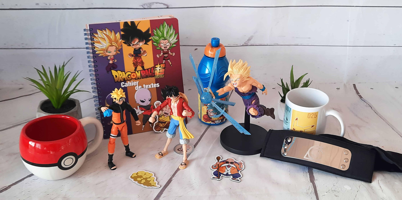Retrouvez vos personnages préférés de Dragon Ball, Naruto, One Piece sous forme deporte clés, mugs, bouteille d'eau ou marque pages, venez dénicher celui qui vous convient avec le héros de votre choix.