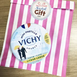 Mini pastilles Vichy - Parfum citron  (40 g)