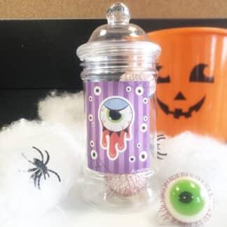 Bonbonnière d'Halloween - 7 yeux dégoulinants (140g)