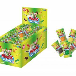 Magic tétine gum - Boîte de bonbons de 60 tétines (1kg)