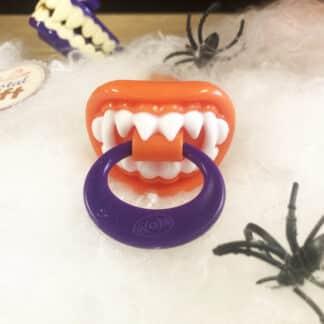 Bpop Terror Mix - Sucette d'Halloween en dents de vampires orange (15g)
