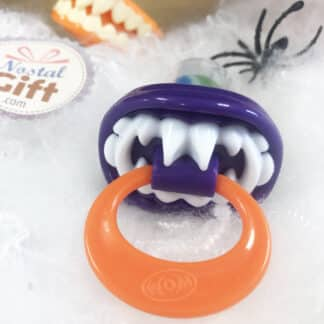 Bpop Terror Mix - Sucette d'Halloween en dents de vampires violette (15g)