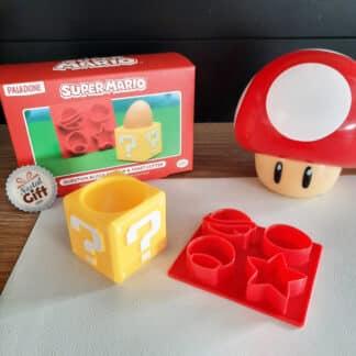 Super Mario - Kit coquetier Question Block avec coupe-pain