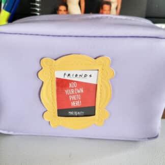 Friends - Trousse de toilette Cadre photo jaune personnalisable - Violette